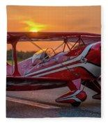 Pitts Sunset Fleece Blanket