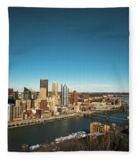 Pittsburgh Fleece Blanket
