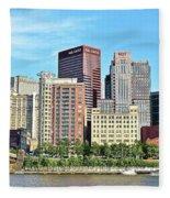 Pittsburgh Panorama June 2017 Fleece Blanket