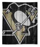 Pittsburgh Penguins Barn Door Fleece Blanket