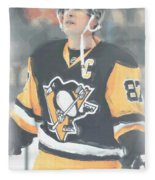 Pittsburgh Penguins Sidney Crosby 3 Fleece Blanket