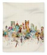 Pittsburgh Pennsylvania Fleece Blanket
