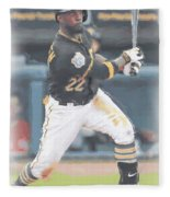 Pittsburgh Pirates Andrew Mccutchen 3 Fleece Blanket