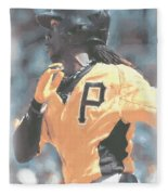 Pittsburgh Pirates Andrew Mccutchen Fleece Blanket