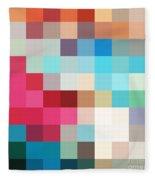 Pixel Art 2 Fleece Blanket