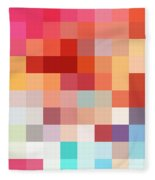 Pixel Art 4 Fleece Blanket