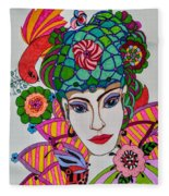 Pixie Girl Fleece Blanket