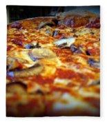 Pizza Pie For The Eye Fleece Blanket