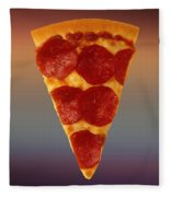 Pizza Slice  Fleece Blanket