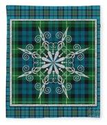 Plaid Snowflakes-jp3704 Fleece Blanket
