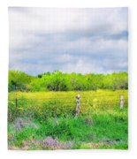 Plain Country Fleece Blanket