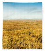 Plain Plains Fleece Blanket
