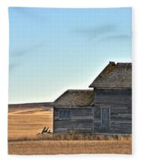 Plains Homestead  Fleece Blanket