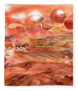 Planet Earth - Save Our Deserts Fleece Blanket