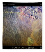 Planet Earth Seven Fleece Blanket