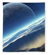 Planet Rise Fleece Blanket