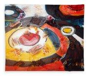 Planets Exploration Fleece Blanket