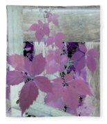 Plant In Negative Fleece Blanket