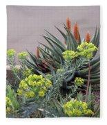Plant Life Fleece Blanket
