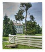 Plantation Home Fleece Blanket