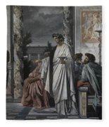 Plato's Symposium Fleece Blanket