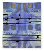 Play That Rock And Roll Fleece Blanket