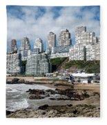 Playa Cochoa Chile Fleece Blanket
