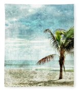 Pleasant Blue - Jersey Shore Fleece Blanket