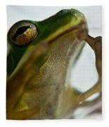 Please Not In A Frogs Eye Fleece Blanket