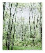 Pleasure Of Pathless Woods - Alt Fleece Blanket