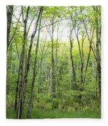 Pleasure Of Pathless Woods - Nat Fleece Blanket