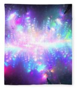 Pleiadian Stars Fleece Blanket