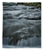 Plitvice Cascades #2 Fleece Blanket