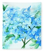 Plumbago Fleece Blanket