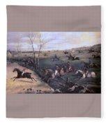 Po Hunp 15 H Alken-oakley Hunt Henry Thomas Alken Fleece Blanket