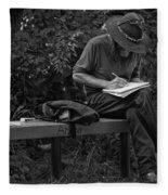 Poet Fleece Blanket