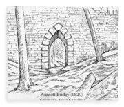 Poinsett Bridge Fleece Blanket