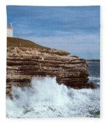 Point Conception Lighthouse Fleece Blanket