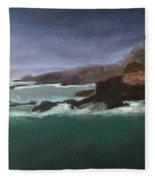 Point Lobos Monterey Fleece Blanket