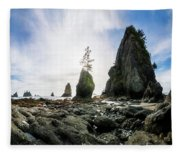 Point Of The Arches 4 Fleece Blanket