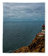 Point Reyes Lighthouse Fleece Blanket