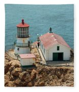 Point Reyes Lighthouse II Fleece Blanket