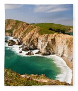Point Reyes National Seashore Fleece Blanket