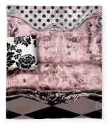 Poitrine Rose Fleece Blanket