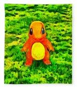 Pokemon Go Charmander - Da Fleece Blanket