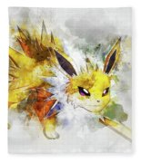 beaedeb4 Pokemon Jolteon Abstract Portrait - By Diana Van Digital Art by ...