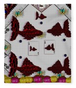 Poker Art Fleece Blanket