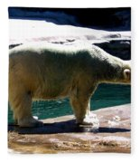 Polar Bear 3 Fleece Blanket