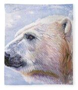 Polar Blue Fleece Blanket