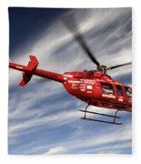 Polar First Helicopter Fleece Blanket
